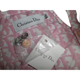 Christian Dior-One piece Jacket-Pink