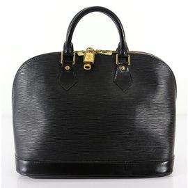 Louis Vuitton-Alma PM cuir épi-Noir