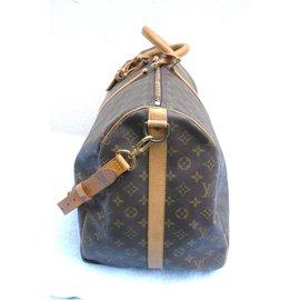 Louis Vuitton-keepall 60 bandoulière-Marron