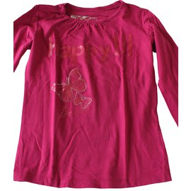 Desigual-T-shirt enfant-Rose