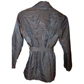 La Fée Maraboutée-Coats outerwear-Brown