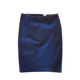 Hermès-Skirts-Brown