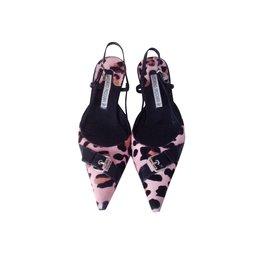 Luciano Padovan-Heels-Leopard print