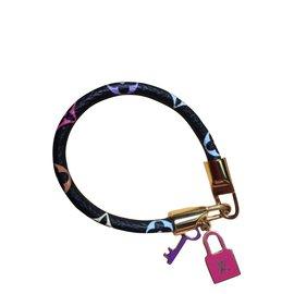 Louis Vuitton-Bracelets-Noir