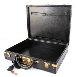 Louis Vuitton-Bags Briefcases-Black