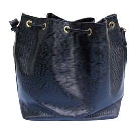 Louis Vuitton-Petit noé cuir épi noir-Noir