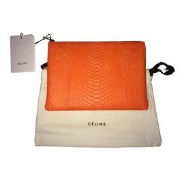 Céline-Clutch bags-Orange