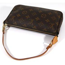 Louis Vuitton-Pochette accessoires NM-Marron