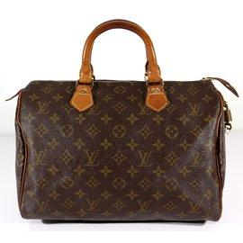 Louis Vuitton-Speedy 30-Marron