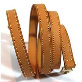 Louis Vuitton-Bandoulière 118 cm-Caramel