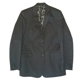 Just Cavalli-Suits-Black