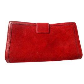 Céline-Clutch bags-Red
