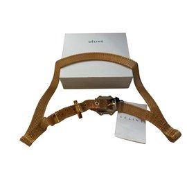 Céline-Belts-Golden