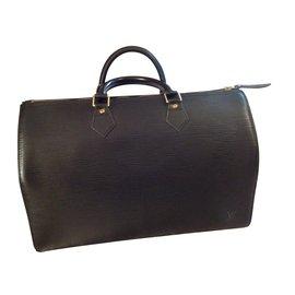 Louis Vuitton-Speedy 38 épi-Noir