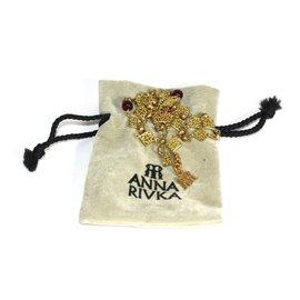 Anna Rivka-Hair accessories-Golden