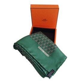 Hermès-Foulards-Vert