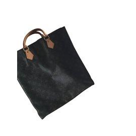 Louis Vuitton-Sac plat-Marron