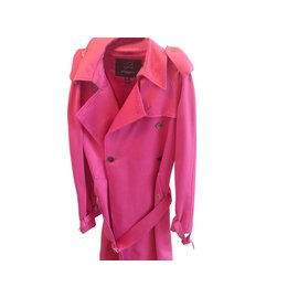 Burberry-Trench coats-Pink