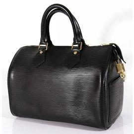 Louis Vuitton-Speedy 25-Noir