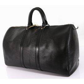 Louis Vuitton-Keepall 45 epi-Noir
