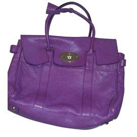 Mulberry-Handbags-Purple