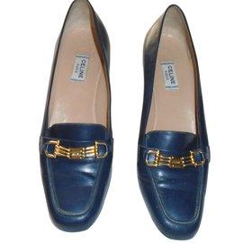 Céline-Flats-Blue