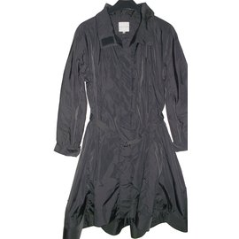 Céline-Trench coats-Black