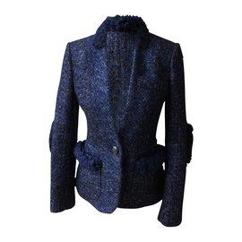 Louis Vuitton-Vestes-Bleu