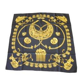 Hermès-Les Cavaliers d'Or-Noir