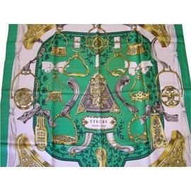 Hermès-Etriers-Vert