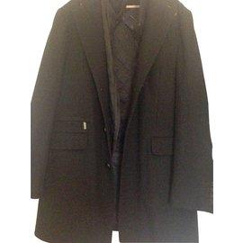 Zara-Blazers Jackets-Black