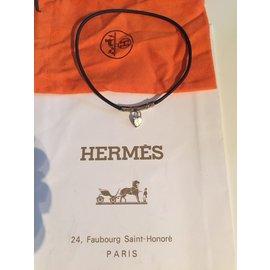 Hermès-Colliers-Argenté