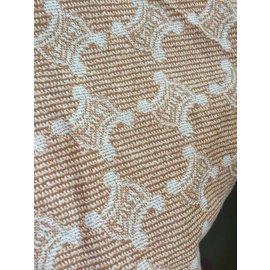 Céline-Silk scarves-Beige