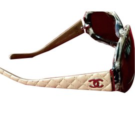 Chanel-Sunglasses-Beige