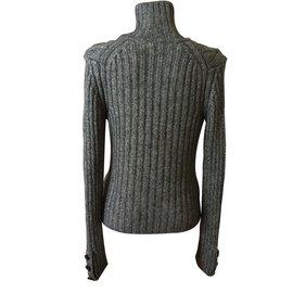 Burberry-Knitwear-Grey