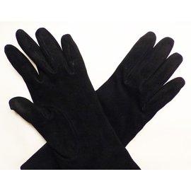 Hermès-Gants-Noir
