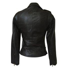 Skiner's-Biker jackets-Black