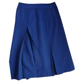 Burberry-Skirts-Blue