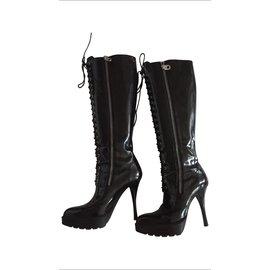 Bally-Boots-Black