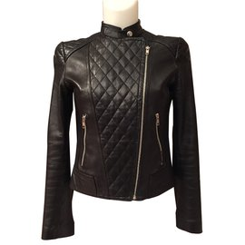 Autre Marque-Perfecto Aqua Leather-Noir