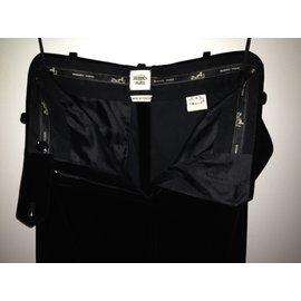 Hermès-Pantalon-Noir