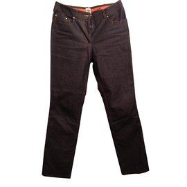 Hermès-Pantalon-Violet