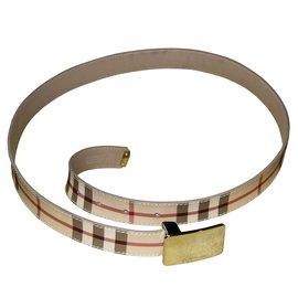 Burberry-Belts-Beige