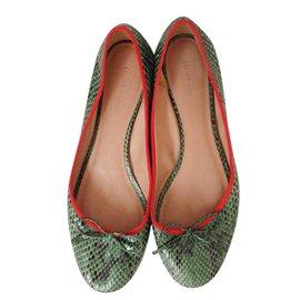 Céline-Ballet flats-Green