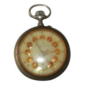 Autre Marque-Mechanische Uhren-Silber