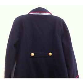 Petit Bateau-Coats outerwear-Blue