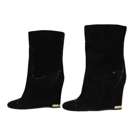 Louis Vuitton-Bottines neuves-Noir