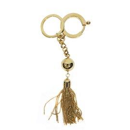 Louis Vuitton-Porte clés ou bijoux de sac-Doré