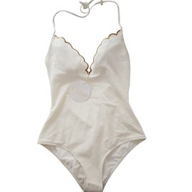 Chloé-Swimwear-White