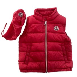 Moncler-Coats outerwear-Red
